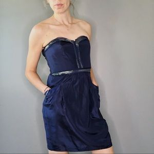 NWT Rebecca Taylor Strapless Party Dress
